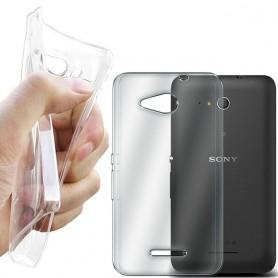 Sony Xperia E4G silikon må være gjennomsiktig