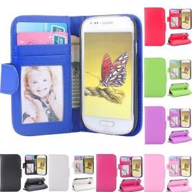 Mobil lommebok Galaxy S3 Mini fotolomme