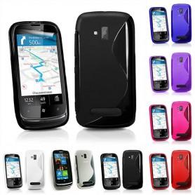 S Line silikonetui til Nokia Lumia 610