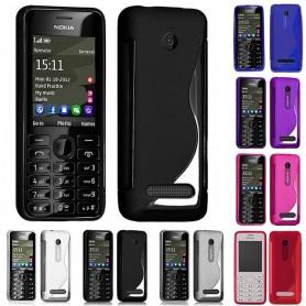 S Line silikonetui til Nokia 206