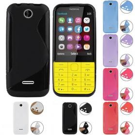S Line silikonskall Nokia 225