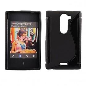 S Line silikonetui til Nokia Asha 502