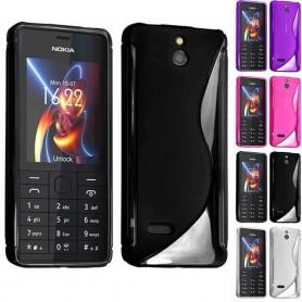 S Line silikonetui til Nokia 515