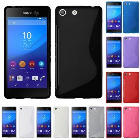 S Line silikonetui til Sony Xperia M5