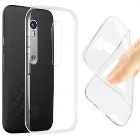 Motorola Moto G3 silikon gjennomsiktig