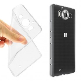 Microsoft Lumia 950 silikon gjennomsiktig