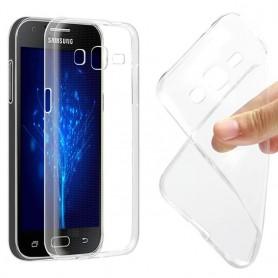 Galaxy J3 silikon gjennomsiktig