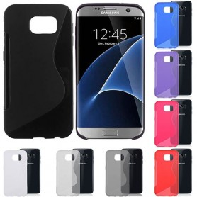 S Line silikonskall Galaxy S7 Edge