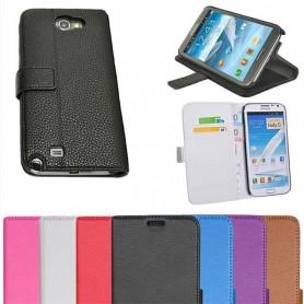 Galaxy Note 2 lommebokveske