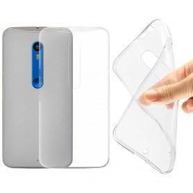 Motorola Moto X Style silikon gjennomsiktig