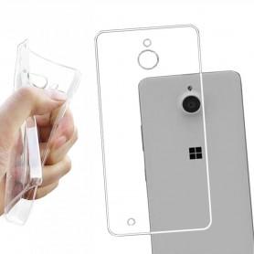Microsoft Lumia 850 silikon må være gjennomsiktig