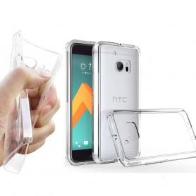 HTC ONE M! 0 Silikonetui Gjennomsiktig