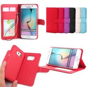 Magnetisk mobil lommebok Galaxy S6 Edge