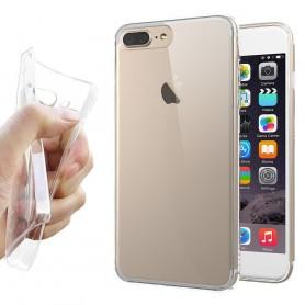 Apple iPhone 7/8 Silikonetui Gjennomsiktig mobilskall