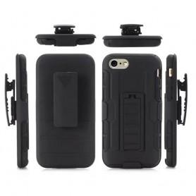 Slagbestandig skall med hylster iPhone 7, 8 mobil skallbeskyttelse