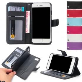 Magnetisk mobil lommebok Apple iPhone 7/8 Mobiltelefon veske