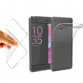 Sony Xperia E5 silikonetui gjennomsiktig