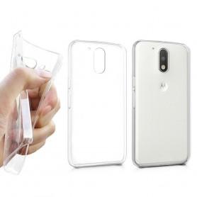 Motorola Moto G4 / G4Plus silikon må være gjennomsiktig