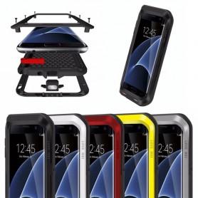 LOVE MER Powerful Samsung Galaxy S7 Edge Metal mobil deksel
