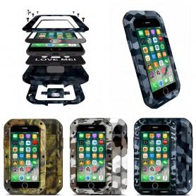 LOVE MER CAMO Apple iPhone 7, 8 mobil aluminiumsbeskyttelse
