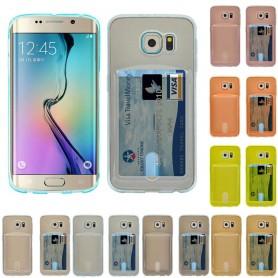 Silikon deksel med Galaxy S6 Edge Plus spor