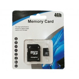 4 GB Micro SD-minnekort
