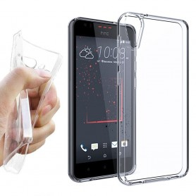 HTC Desire 10 Lifestyle Silikonetui Gjennomsiktig