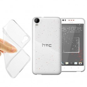HTC Desire 825 silikonetui gjennomsiktig