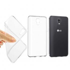 LG X Screen Silikon trenger Gjennomsiktig