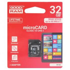 GOODRAM 32 GB Micro SD med adapter klasse 10