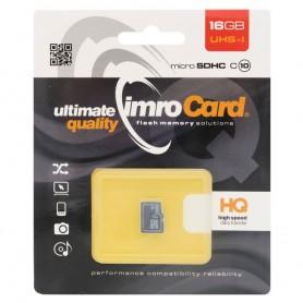 IMRO Micro SDHC minnekort 16 GB klasse 10