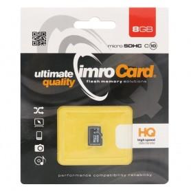 IMRO Micro SDHC minnekort 8 GB Klasse 10