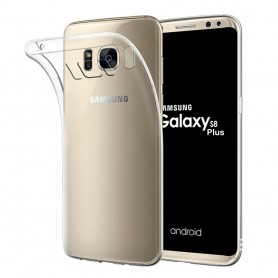 Samsung Galaxy S8 Plus silikon må være gjennomsiktig