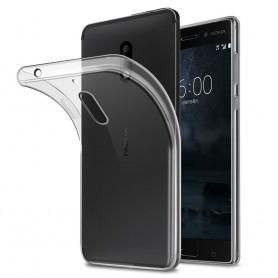 Nokia 6 silikon må være gjennomsiktig