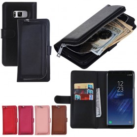 Mobil lommebok 2i1 myntlomme Samsung Galaxy S8 Plus