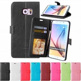 Mobil lommebok 3-kort Samsung Galaxy S6 Edge +