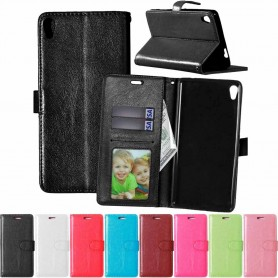 Mobil lommebok 3-kort Sony Xperia XA Ultra