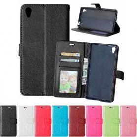 Mobil lommebok 3-kort Sony Xperia Z5 Premium