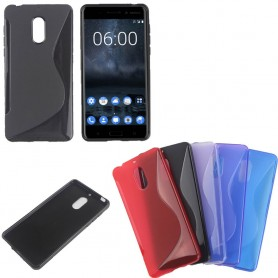 S Line silikon deksel til Nokia 6