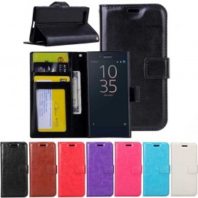 Mobil lommebok 3-kort Sony Xperia XZ Premium G8141