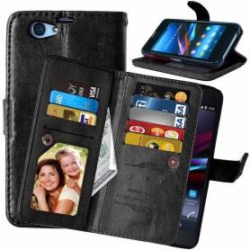 Dobbelt flip Flexi Sony Xperia Z1 Compact