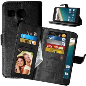 Mobil lommebok Double Flip Flexi 8-kort LG Nexus 5X H791