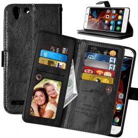 Mobil lommebok Double Flip Flexi 8-kort Lenovo Vibe K5, K5 Plus