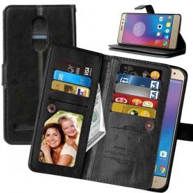 Mobil lommebok Double Flip Flexi 8-kort Lenovo K6