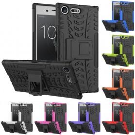 Støtsikker skall med stativ Sony Xperia XZ Premium G8141