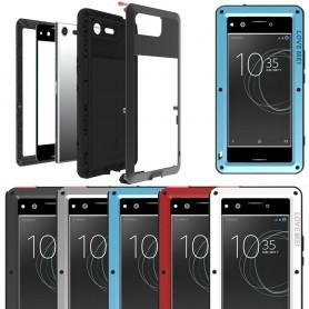LOVE MER Powerful skall Sony Xperia XZ Premium G8141 mobil skallmetall