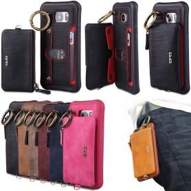 BRG shell 2i1 med avtagbar lommebok Samsung Galaxy S7 SM-G930F