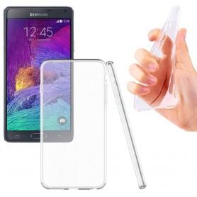 Samsung Galaxy Note 4 SM-N910F silikon må være gjennomsiktig
