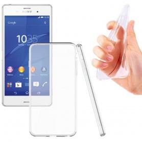 Sony Xperia Z1 silikonetui gjennomsiktig