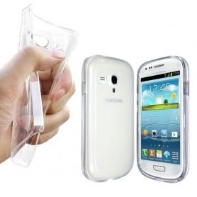 Samsung Galaxy S3 Mini silikon må være gjennomsiktig